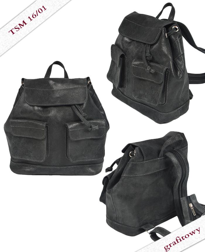 Plecak skórzany TSM16/01