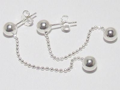 Biżuteria srebrna - kolczyki wzór TP71002
