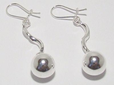 Biżuteria srebrna - kolczyki wzór TP71003