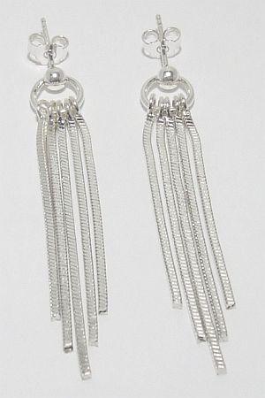 Biżuteria srebrna - kolczyki wzór TP71010