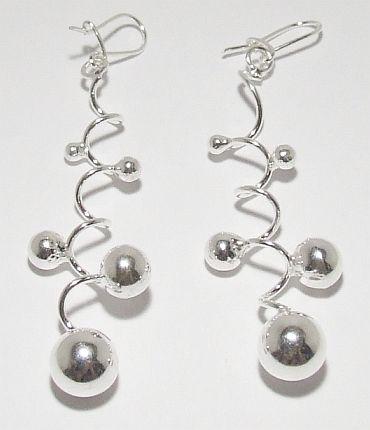 Biżuteria srebrna - kolczyki wzór TP71022