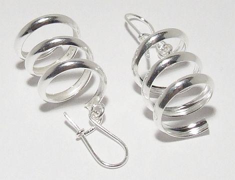 Biżuteria srebrna - kolczyki wzór TP71025