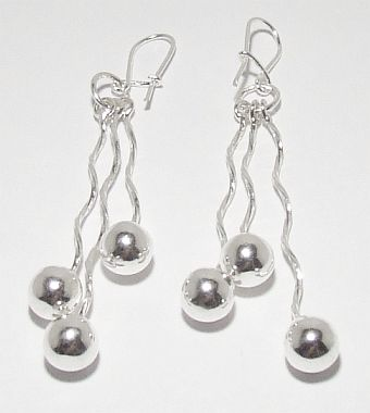 Biżuteria srebrna - kolczyki wzór TP71027