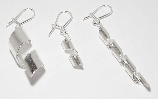 Biżuteria srebrna - kolczyki wzór TP71030