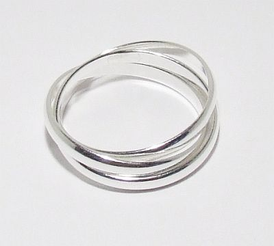 Biżuteria srebrna - pierścionek wzór  TP72007