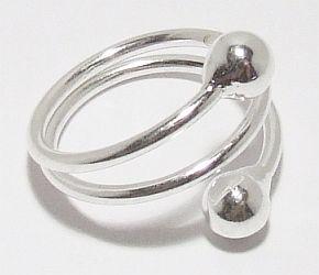 Biżuteria srebrna - pierścionek wzór  TP72008