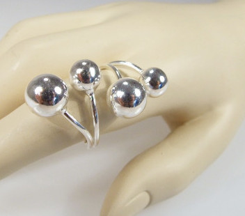 Biżuteria srebrna - pierścionek wzór  TP82003