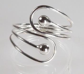 Biżuteria srebrna - pierścionek wzór  TP82005