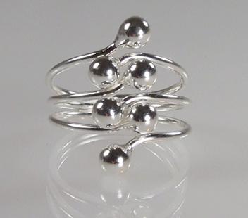 Biżuteria srebrna - pierścionek wzór  TP82006