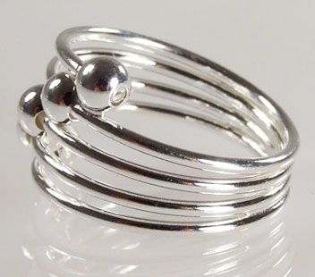 Biżuteria srebrna - pierścionek wzór  TP82009